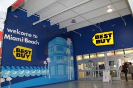 photo of entrance to Best Buy Miami Beach store